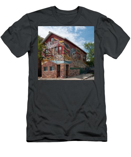 Art House South Chicago Mural Men's T-Shirt (Athletic Fit)