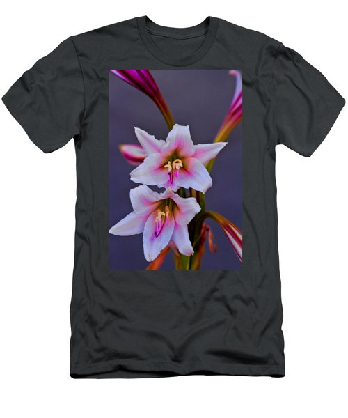 Asiatic Lily Men's T-Shirt (Slim Fit) by Bill Barber