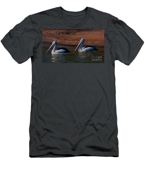 Australian Pelicans Men's T-Shirt (Athletic Fit)