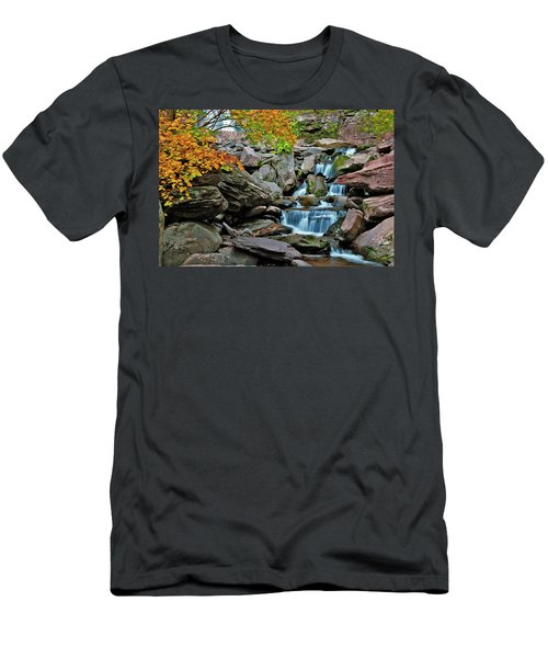 Autumn At Kaaterskill Men's T-Shirt (Athletic Fit)