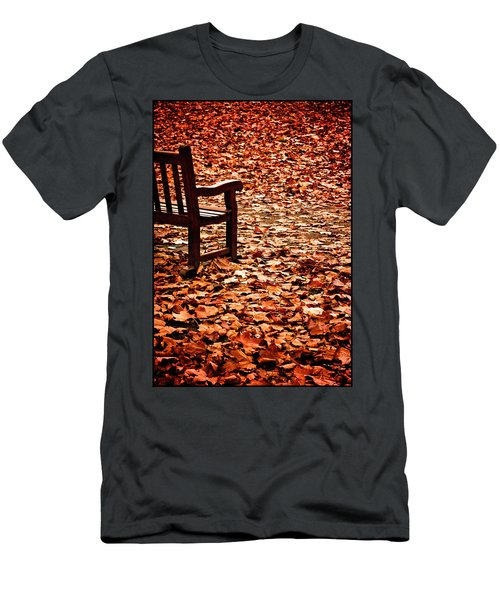 Autumnal Colours Men's T-Shirt (Athletic Fit)