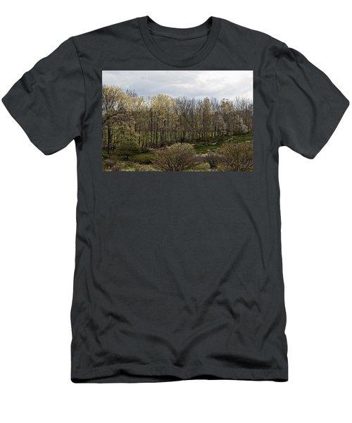 Back Yard Men's T-Shirt (Athletic Fit)