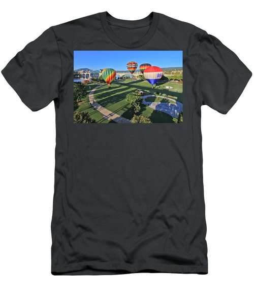 Balloons In Coolidge Park Men's T-Shirt (Athletic Fit)