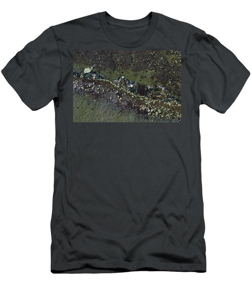 Barnacles And Seaweed Men's T-Shirt (Athletic Fit)