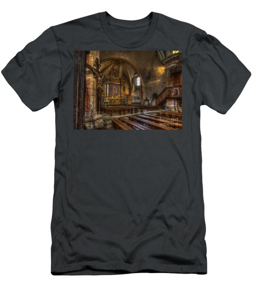 Baroque Church In Savoire France 2 Men's T-Shirt (Athletic Fit)