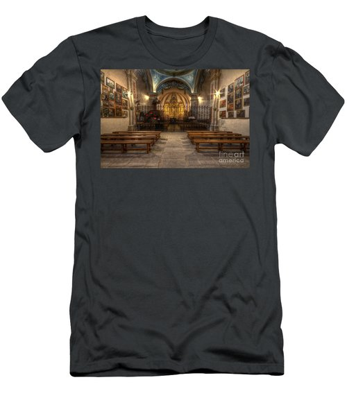 Baroque Church In Savoire France 4 Men's T-Shirt (Athletic Fit)