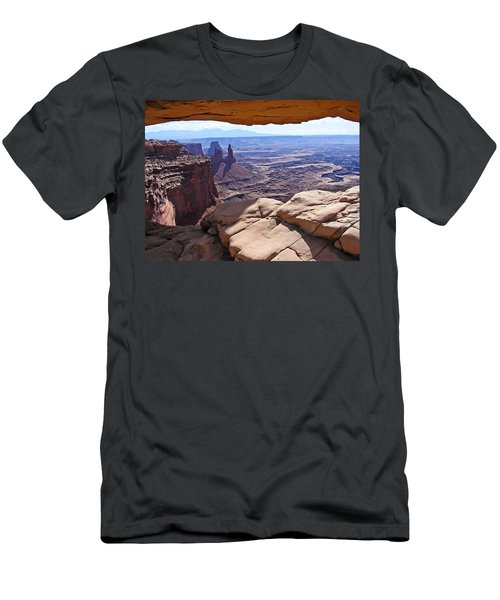 Beauty Through An Arch Men's T-Shirt (Athletic Fit)