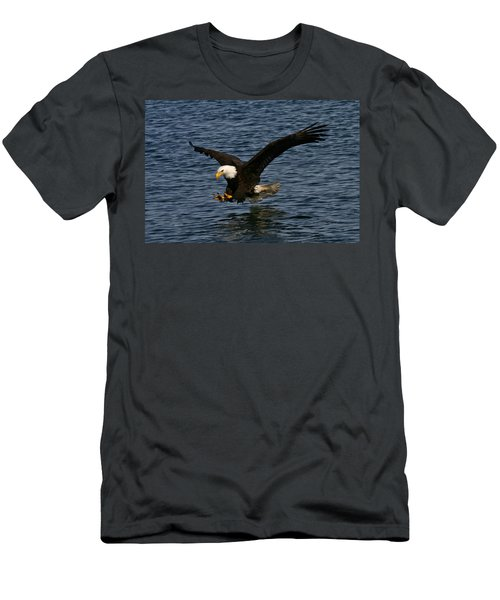 Men's T-Shirt (Slim Fit) featuring the photograph Before The Strike by Doug Lloyd