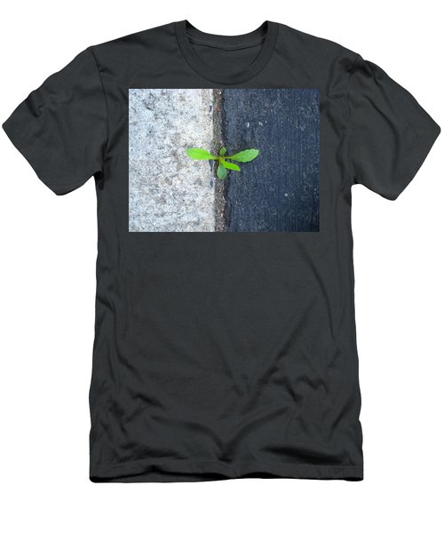 Men's T-Shirt (Slim Fit) featuring the photograph Grows Here by John King