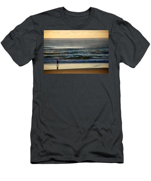 Men's T-Shirt (Slim Fit) featuring the photograph Big Ocean  by Eric Tressler