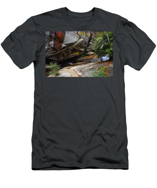Birdrock Waterfall Men's T-Shirt (Athletic Fit)