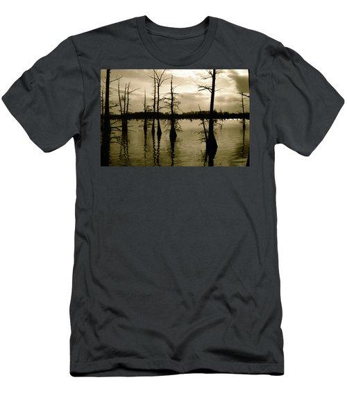 Black Bayou 8 Men's T-Shirt (Athletic Fit)