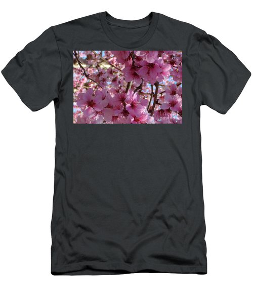 Men's T-Shirt (Slim Fit) featuring the photograph Blossoms by Lydia Holly