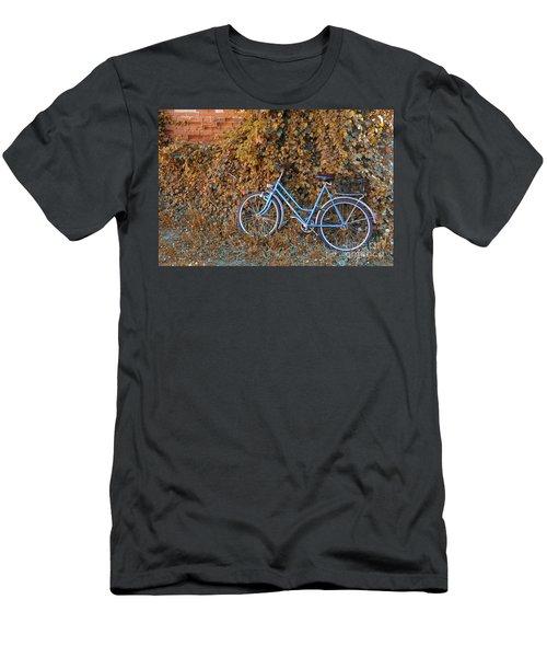 Blue Bike Men's T-Shirt (Athletic Fit)
