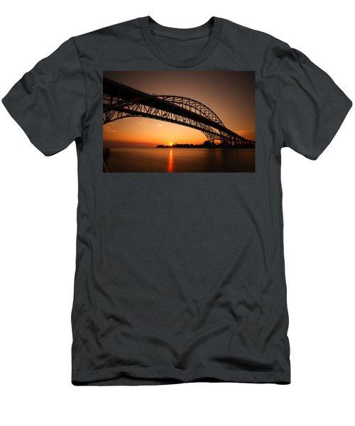 Men's T-Shirt (Slim Fit) featuring the photograph Blue Dawn by Gordon Dean II