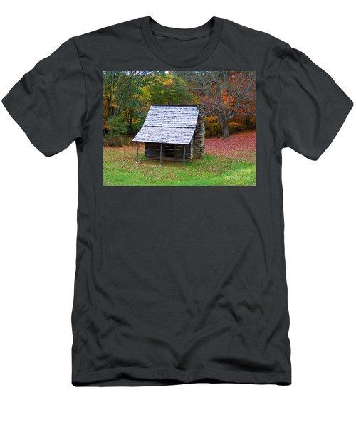 Blue Ridge Cabin Men's T-Shirt (Athletic Fit)