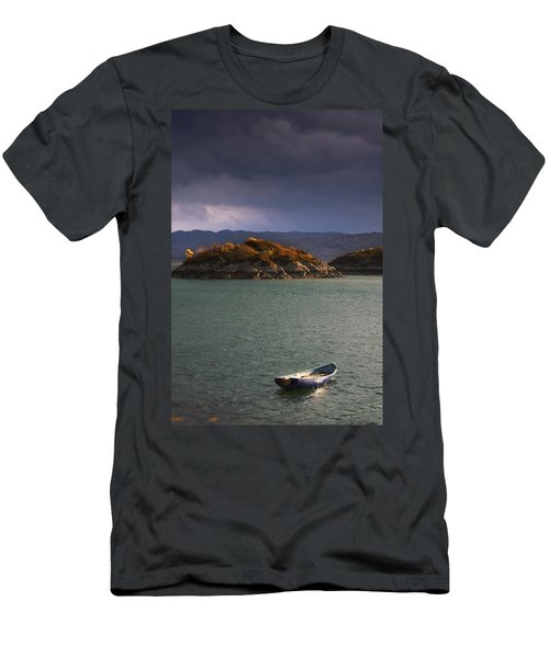 Boat On Loch Sunart, Scotland Men's T-Shirt (Athletic Fit)
