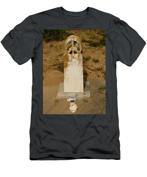 Bodega Bay Cemetery Men's T-Shirt (Athletic Fit)