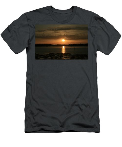 Bodega Bay Sunset II Men's T-Shirt (Athletic Fit)