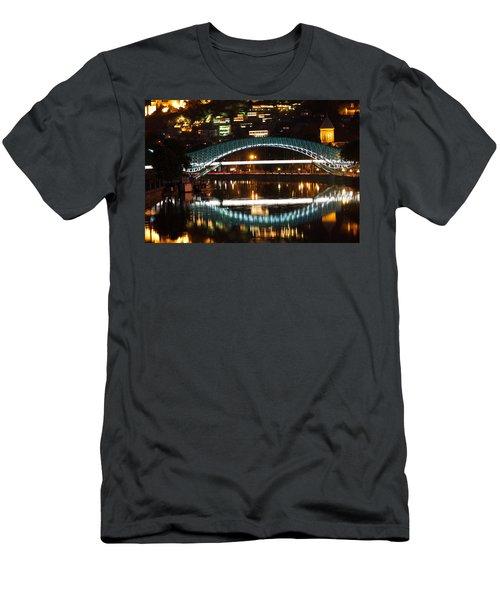 Bridge Men's T-Shirt (Athletic Fit)