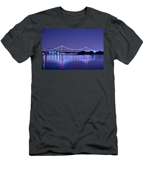 Tri-borough Bridge In Nyc Men's T-Shirt (Athletic Fit)