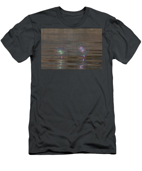 Bubble Iridescence Men's T-Shirt (Athletic Fit)