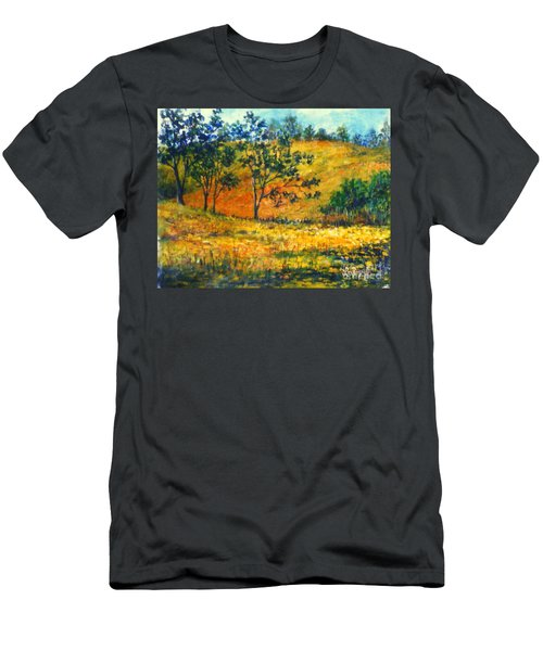 California  Fields Men's T-Shirt (Athletic Fit)