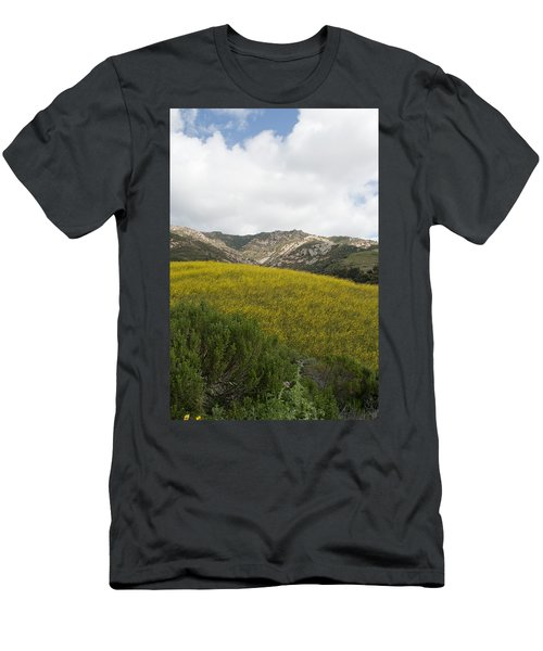 California Hillside View V Men's T-Shirt (Athletic Fit)