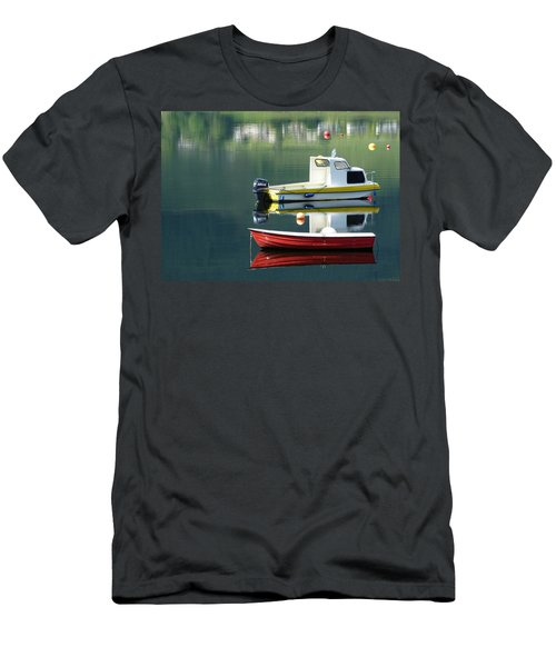 Men's T-Shirt (Slim Fit) featuring the photograph Calm Waters by Lynn Bolt