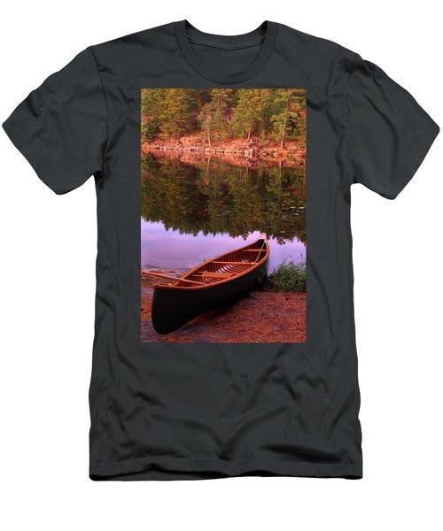 Canoe, Algonquin Park, Ontario Men's T-Shirt (Athletic Fit)
