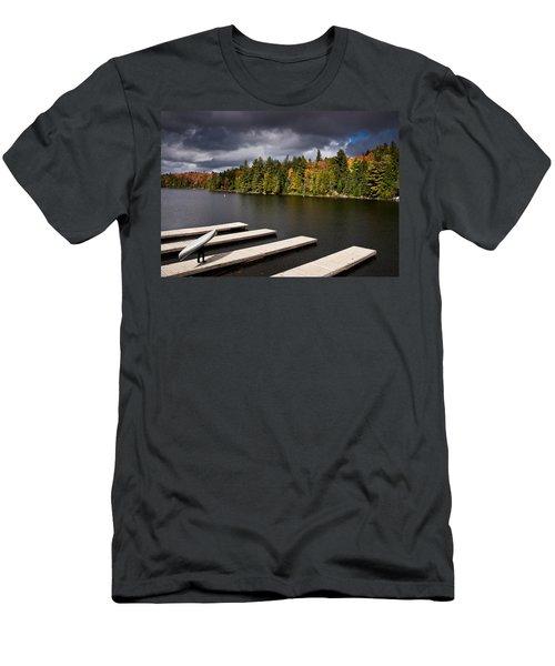 Canoe Lake Men's T-Shirt (Athletic Fit)