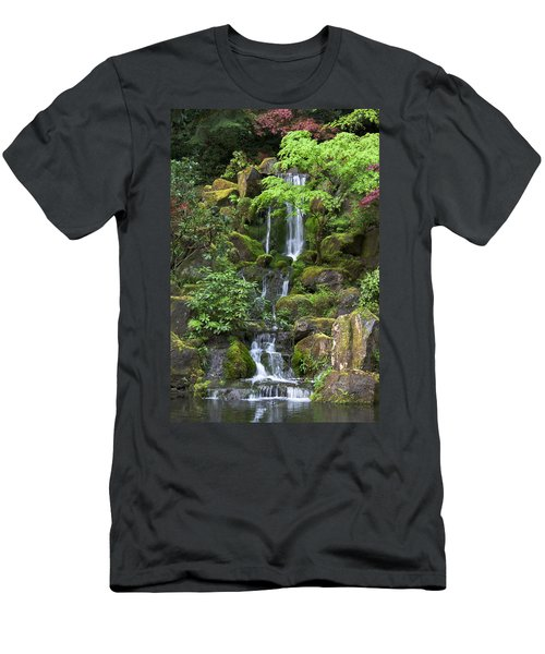 Cascading Waters Men's T-Shirt (Athletic Fit)