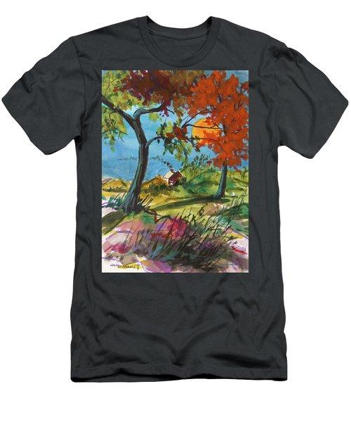 Catching Sundown Men's T-Shirt (Slim Fit) by John Williams