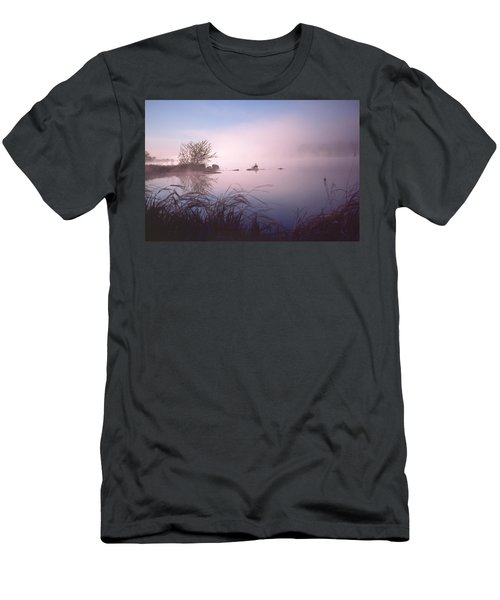 Chippewa River At Dawn Men's T-Shirt (Athletic Fit)