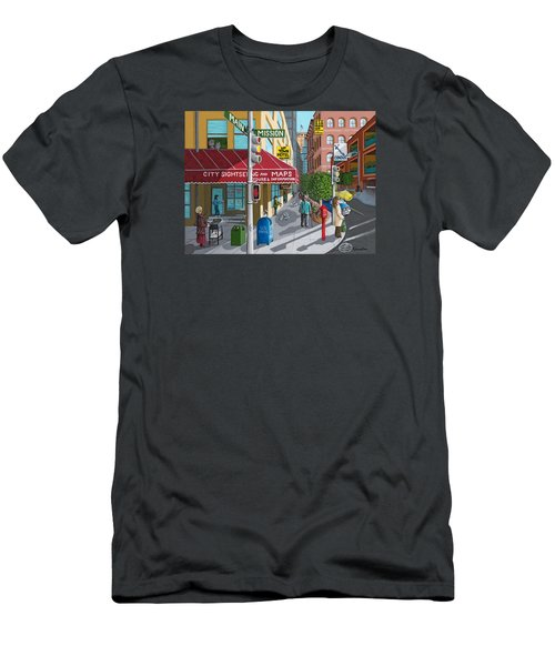 City Corner Men's T-Shirt (Athletic Fit)
