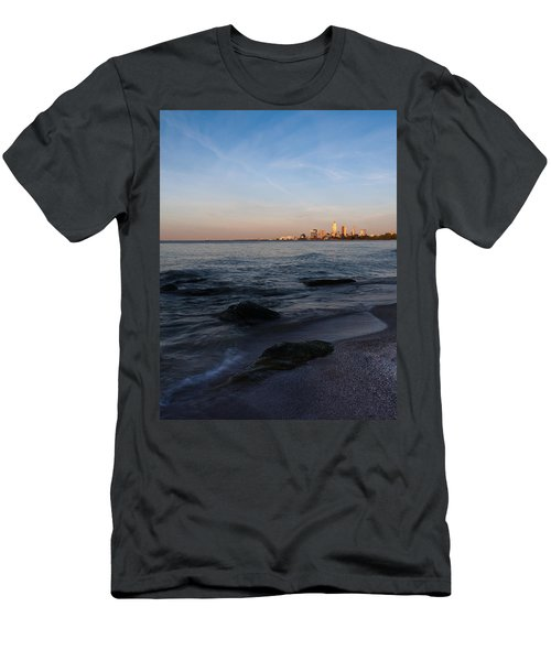 Cleveland From The Shadows Men's T-Shirt (Athletic Fit)