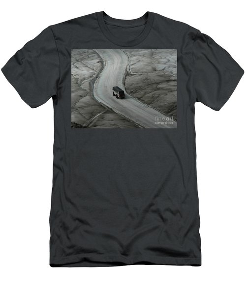 Columbia Icefield Glacier Adventure Men's T-Shirt (Athletic Fit)