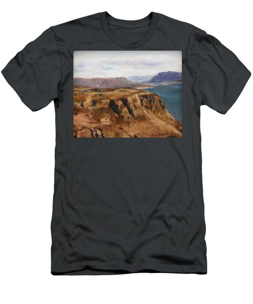 Columbia River Gorge I Men's T-Shirt (Athletic Fit)