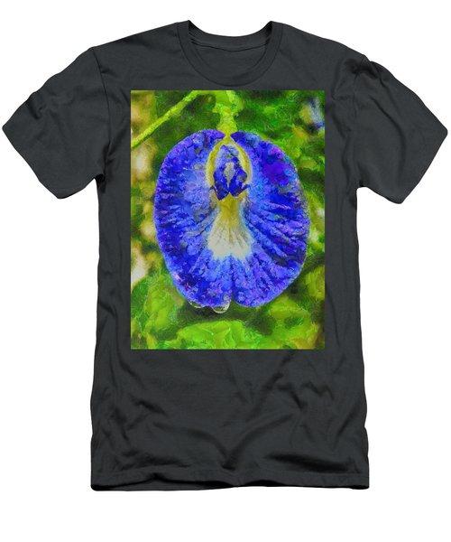 Conch Flower Men's T-Shirt (Athletic Fit)
