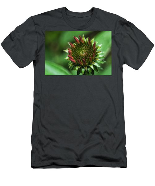 Coneflower Close-up Men's T-Shirt (Athletic Fit)
