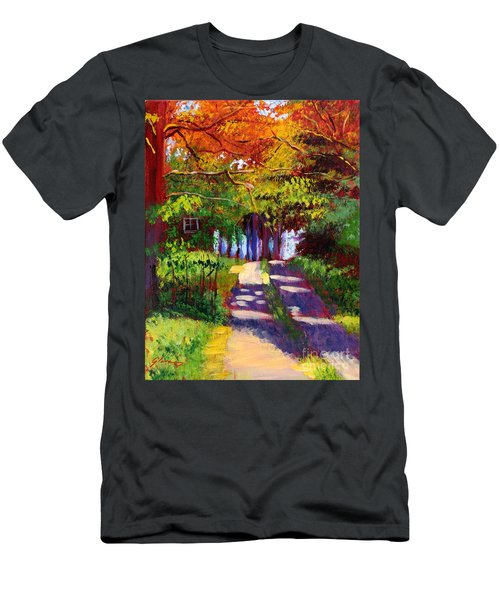 Cool Country Land Plein Air Men's T-Shirt (Athletic Fit)