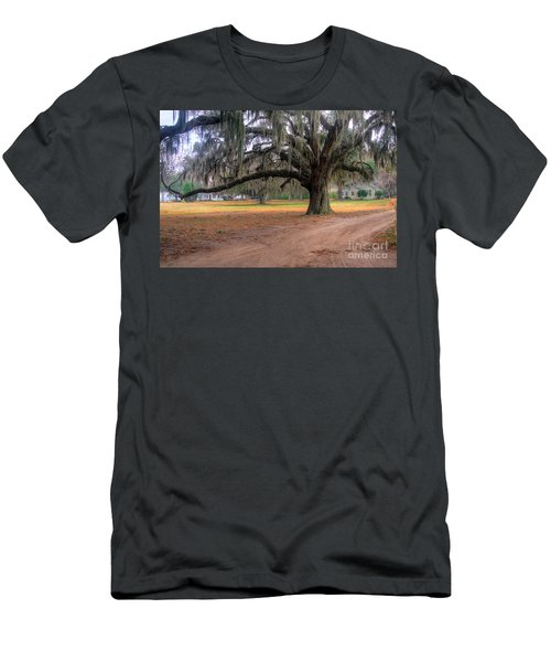 Coosaw Plantation Live Oak Men's T-Shirt (Athletic Fit)