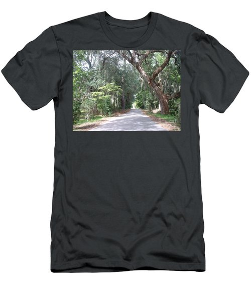 Men's T-Shirt (Slim Fit) featuring the photograph Covered By Nature by Mark Robbins