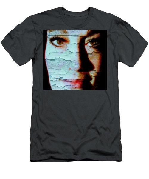 Crackled View Men's T-Shirt (Athletic Fit)