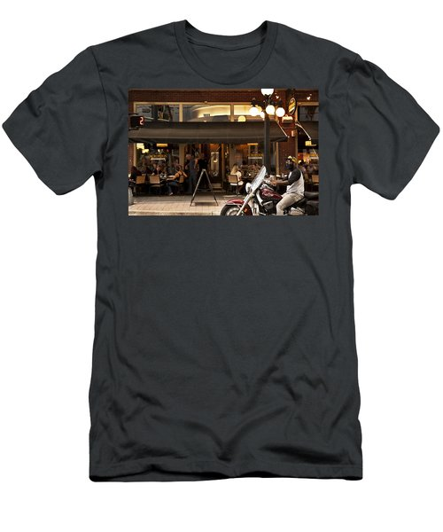 Men's T-Shirt (Slim Fit) featuring the photograph Crusin' Ybor by Steven Sparks