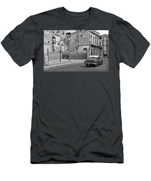 Men's T-Shirt (Slim Fit) featuring the photograph Cuban Car by Lynn Bolt