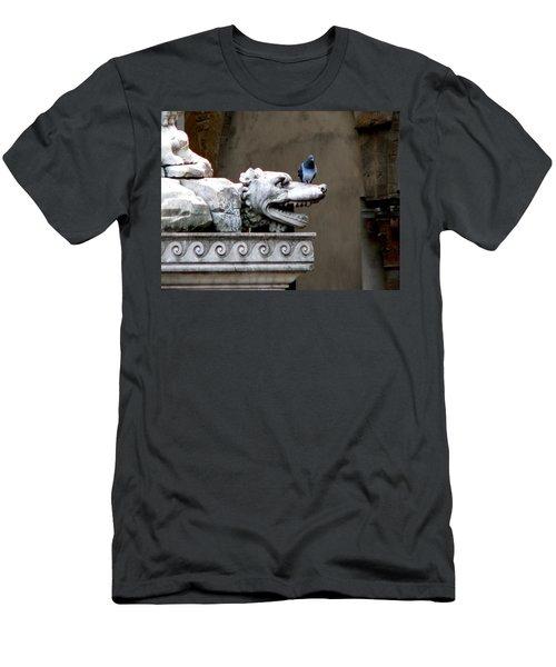 Despised Pigeon Men's T-Shirt (Slim Fit) by Eric Tressler