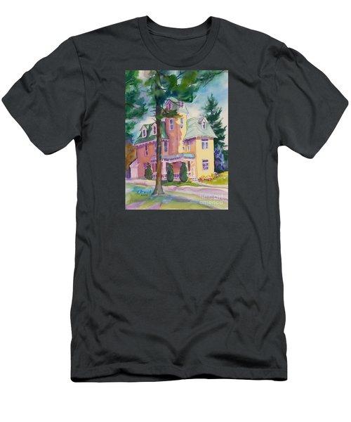 Dewey-radke Glowing Men's T-Shirt (Slim Fit) by Kathy Braud