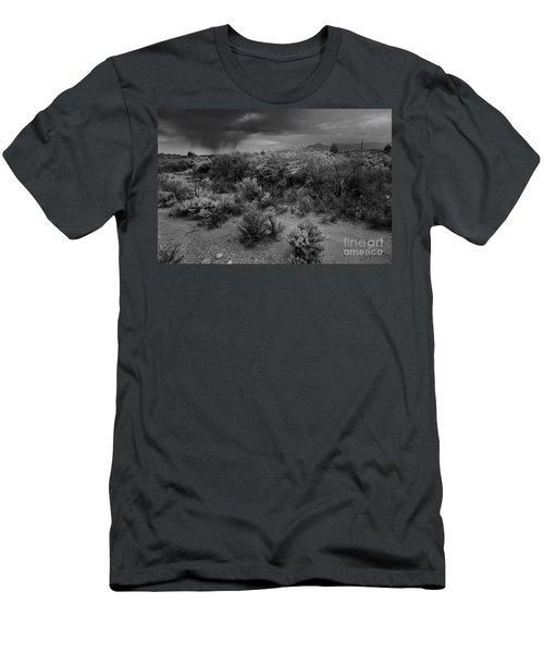 Distant Shower Men's T-Shirt (Athletic Fit)