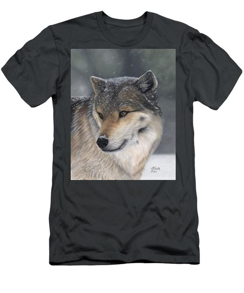 Men's T-Shirt (Athletic Fit) featuring the painting Distraction by Tammy Taylor